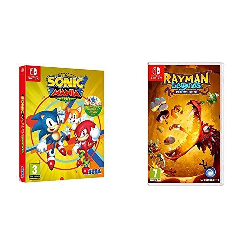 Oferta de Sonic Mania Plus + Rayman Legends: Definitive Edition