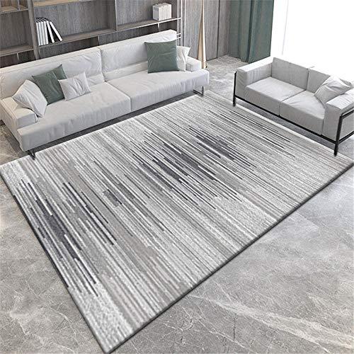 decoracion habitacion alfombra carretera infantil La alfombra gris de la sala de estar es rectangular y lavable resistente a la suciedad y al desgaste alfombras salon 200X300CM 6ft 6.7'X9ft 10.1'