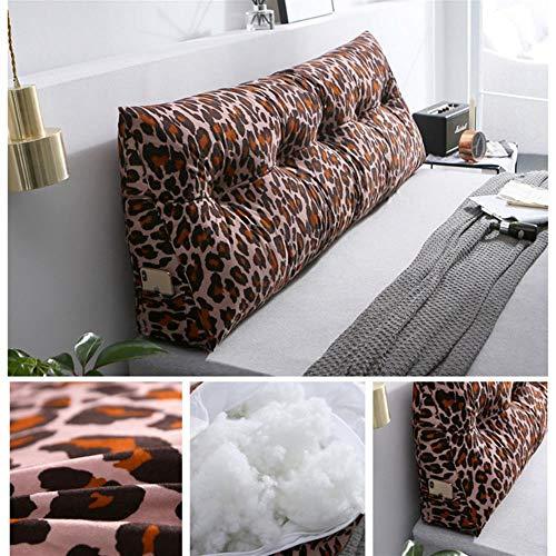 Bedonderstel Wedge Pillow Back Triangle Pillow Back Rest kussen sofa Office Chair Gooi Couch Kussen Kussen voor volwassenen Kids,D,120×50×20cm(47×20×8)