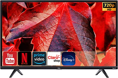 Televisión TCL SmartTV Led HDR10 a 120Hz Roku Compatible con Alexa y Google Assistant Netflix Youtube Prime Video + Aplicaciones Class S433(Renewed) (32S433/32')