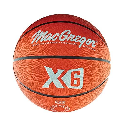 MacGregor Rubber Offical Basketball (Orange)