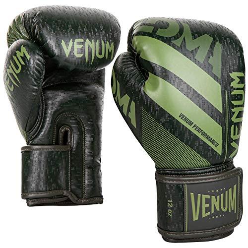 Venum Commando Boxing Gloves Loma Edition - 14 Oz, Dark Green/Green