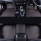 Completa Cobertura Coche Cuero Alfombrillas para Volkswagen Polo Mk5 6R Vento 2010-2018, Todo Clima Antideslizante Impermeable Protección Alfombrillas, Decorar Proteccion Accesorios