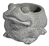 Classic Home and Garden 9/3462/1 Frog Planter, Large, Natural