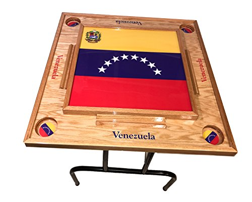 Venezuela Domino Table the full Flag