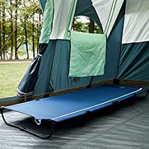 TIMBER RIDGE Folding Camping Cot Lightweight Outdoor Sleeping Cots for Adults, Easy Set up with Carry Bag Support up to 225lbs