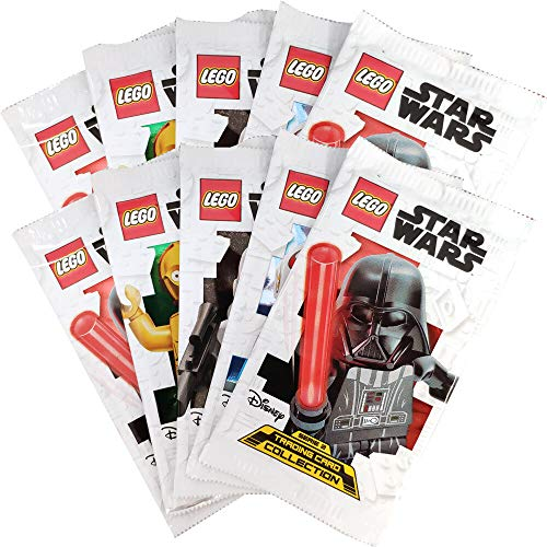 Lego Star Wars - Serie 2 Trading Cards - 10 Booster