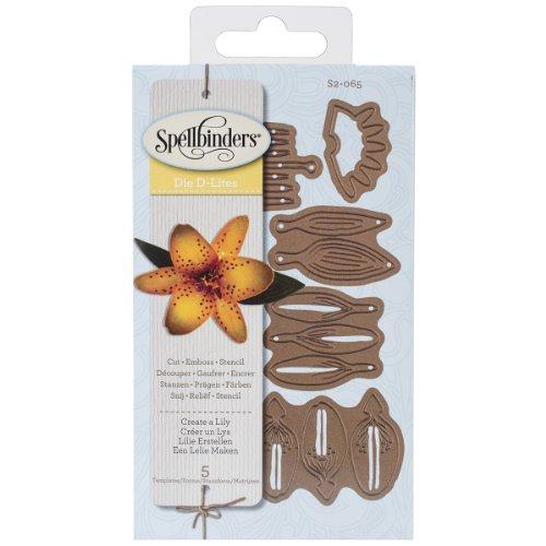 Spellbinders Shapeabilities Die D-lites-Create A Lily