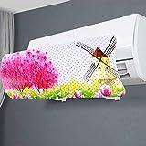 Mr. You Deflettore condizionatore & Aria condizionata Vento deflettore Anti Diretto Blowing(Diversione stomatale,Taolin Windmill)