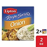 Lipton Recipe Secrets Soup and Dip Mix For a Delicious Meal Onion Great With Your Favorite Recipes 2...