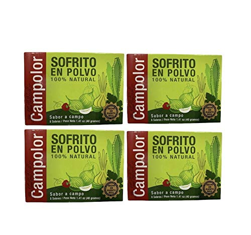 Sofrito en Polvo Campolor 4 Rico 🇵🇷 Pack Clearance Sacramento Mall SALE Limited time Puerto