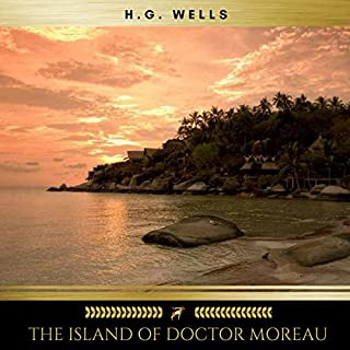 The Island of Doctor Moreau audiobook cover art