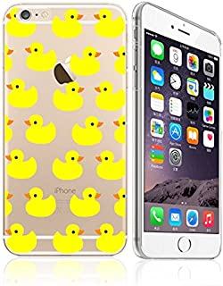 iPhone 6 / 6S, Yellow Rubber Duck Overload Ultra Slim Silicone Phone Case Back Cover