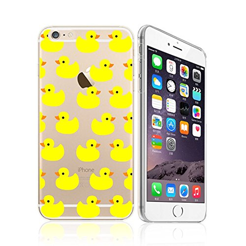 deco fairy iphone 6 case rubbers iPhone 6 / 6S, Yellow Rubber Duck Overload Ultra Slim Silicone Phone Case Back Cover