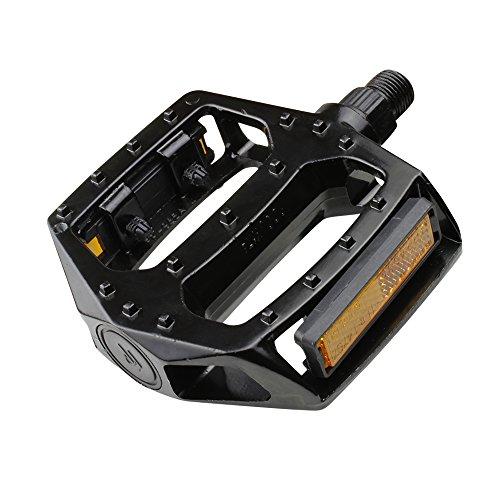 ELTIN EP5006 Pedal BMX Aluminio, Negro, Talla Única