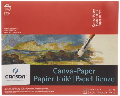 Canson Paper Canvas Pads