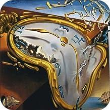 3dRose cst/_50930/_3 Salvador Dali Painting Scene in a Cabaret Ceramic Tile Coasters Set of 4