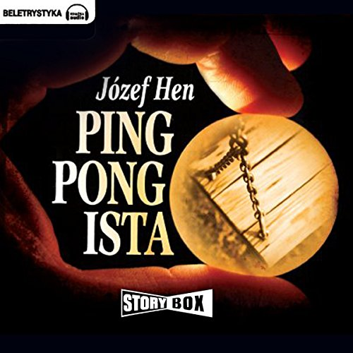 Pingpongista audiobook cover art