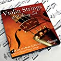 Adagio Pro - Violin Strings - 4/4 Classic Silver Violin…
