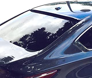 Spoiler King Roof Spoiler (284R) compatible with Nissan Altima 4dr 2013-present