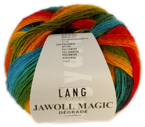 100 g Sockenwolle Jawoll Magic Degradé 4-fädig, Fb. 50