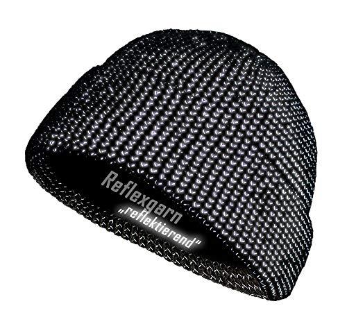 REALflex Reflex-Beanie; reflektierende Mütze für Mann, Frau, Kind und Senioren - warm und sicher unterwegs!