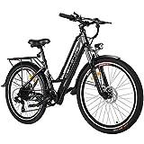 Vivi Bicicleta Eléctrica E-Bike, Bicicleta Eléctrica de 26 Pulgadas 250W, con Batería de Litio de 36V 8Ah, Profesional de 7 Velocidades (Entrega en 5-7 días)