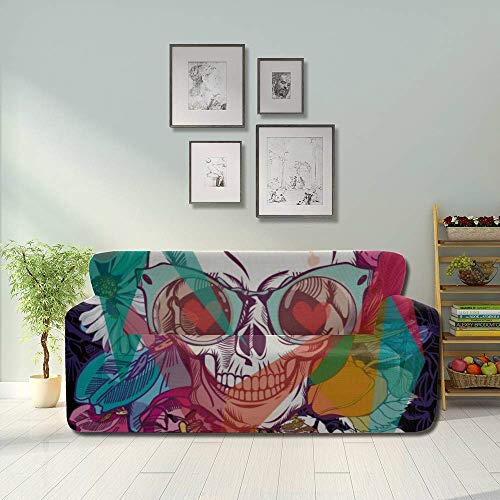JIUCHUAN Head Skull Mexico America Style Sofa Furniture Cover Sofa...