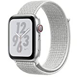 Apple Watch Nike + Series 4 Smartwatch Argento Oled Cellulare Gps Satellitare