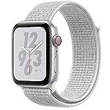 Apple Watch Nike+ Series 4 Reloj Inteligente Plata OLED Móvil GPS (satélite) - Relojes Inteligentes (OLED, Pantalla táctil, GPS (satélite), Móvil, 30,1 g, Plata)