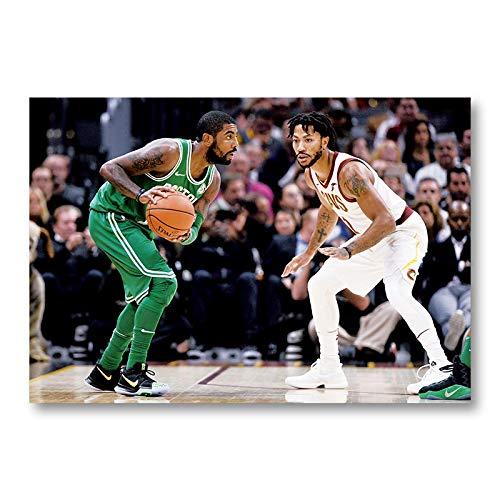 XXYYKK Póster de la NBA de Kobe James Jordan
