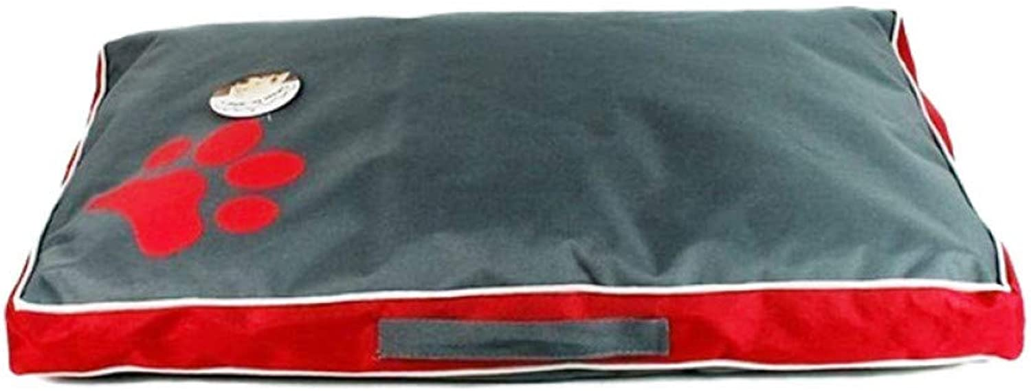 CZHCFF Pet large dog bed soft puppy cushion bed claw pattern bed detachable cover pet bed dog cat