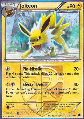 Pokemon - Jolteon (34/116) - Plasma Freeze