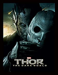 iPosters Thor 2 Malekith Mask Framed 30 x 40 Official Print - Overall Size: 36 x 46 cm (14 x 18 inches) Print Size: 30 x 40 cm