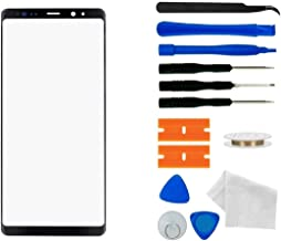 Compatible Samsung Galaxy Note 9 N9600 Screen Replacement Front Outer Lens Glass Screen Replacement Repair with Adhesive and Tool kit.