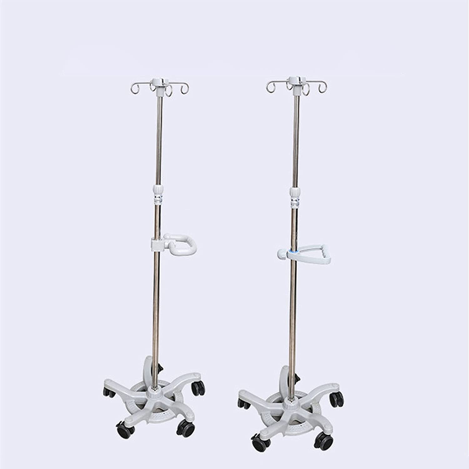 Stainless Steel Portable Over item handling Infusion Drip Adjustable OFFicial mail order Height Stand