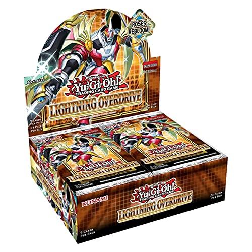 Yu Gi Oh! - Lightning Overdrive Booster Box - 1° edizione - inglese (24 confezioni ciascuna di 9 carte)