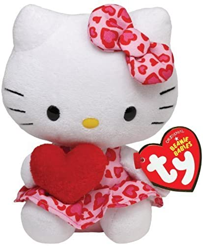 Ty Beanie Babies Hello Kitty - rouge Heart by Ty