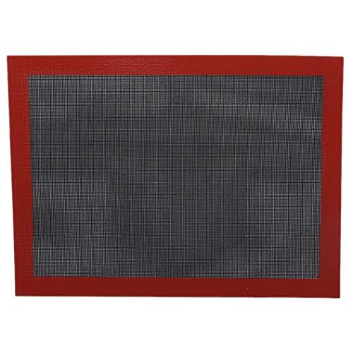 LPOQW - Alfombrilla de silicona antiadherente para hornear (40 x 30 cm)