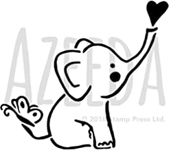 A5 'Baby Elephant' Wall Stencil / Template (WS00032216)