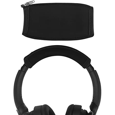 Geekria ヘッドバンドカバー 交換用 S0NY WH1000XM4 WH1000XM3 WH1000XM2 XB950B1 XB950N1 Headphones ヘッドホンを傷から保護 ヘッドバンドクッション/ヘッドバンドプロテクター/簡単なインストール 工具不要 (ブラック)