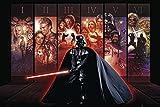 Star Wars G856520 Poster Hexalogie Darth Vader, Mehrfarbig