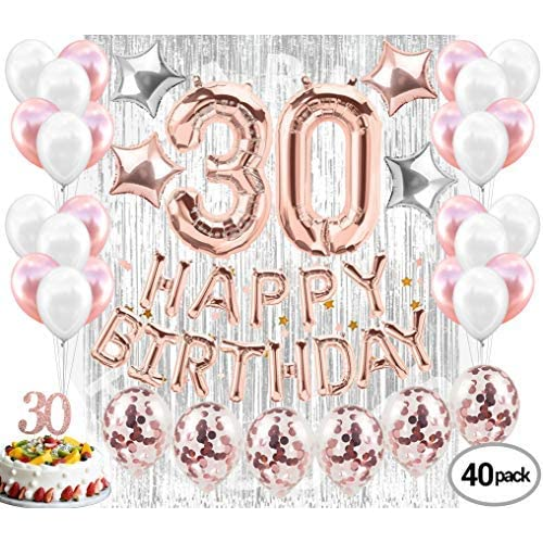 30th Birthday Party Supplies Amazon Com