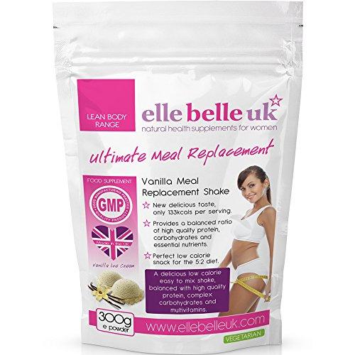 Shake substitut de repas pour femme – Délicieuse saveur de vanille - Une boisson facile à...