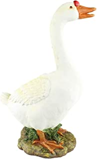 dress up goose statue