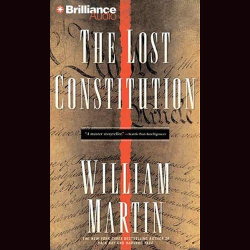 The Lost Constitution audiobook cover art