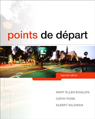 Points de départ Plus MyLab French with Pearson eText multi semester -- Access Card Package (2nd Edition)