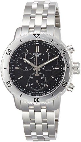 Tissot PRS 200 Armbanduhr, Unisex, Edelstahl, Edelstahl, Edelstahl