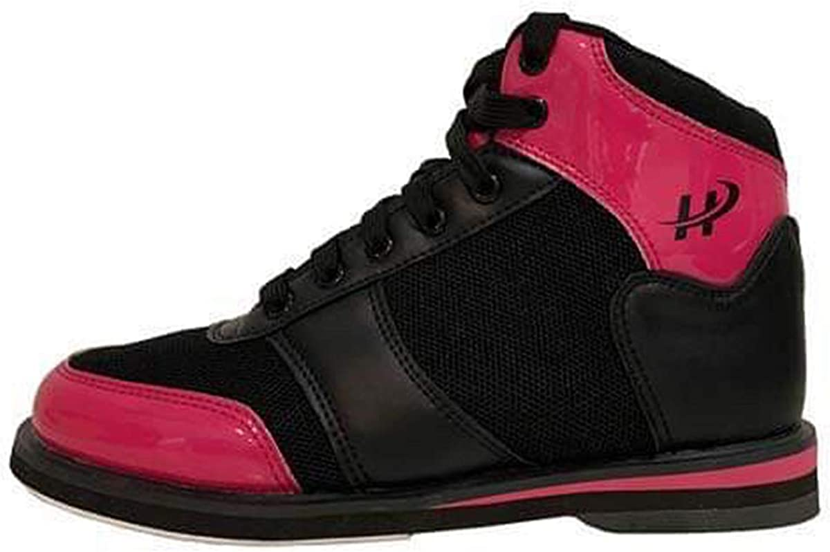 Hollmark Women's Cure 2.0 Top Bowling Shoe for Right Handed Bowler - Pink & Black