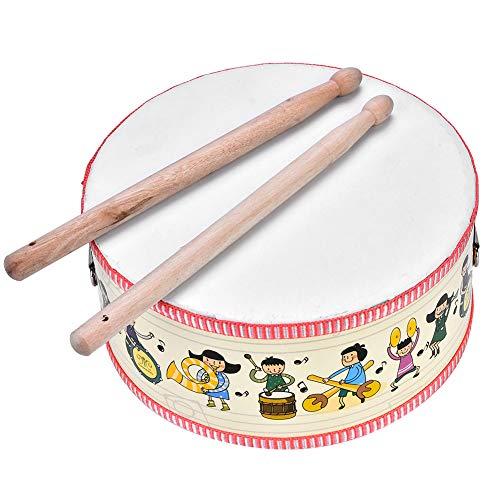Drum Musical Toy, Mini Wooden Ha...